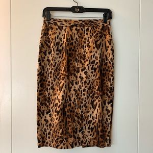 Zara animal print skirt, size XS